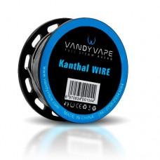 Vandy Vape Bobina Kanthal A1 Fused Clapton Wire 28ga*2 32ga 10ft