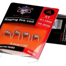 Demon Killer Raging Fire Coil Ni80 A