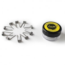 Coil Art Staggered Kanthal A1 x 10