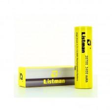 Bateria Listman 20700 40A 3400mah