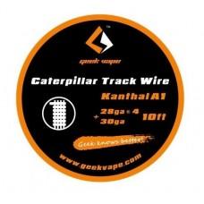 GeekVape Bobina Kanthal A1 Caterpillar Track 28GAx4 30GA 10ft