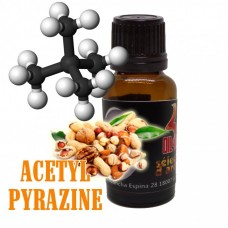 Molecula Oil4Vap Acetyl Pyrazine