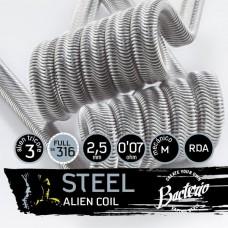 Bacterio Coils Steel Alien Full SS316
