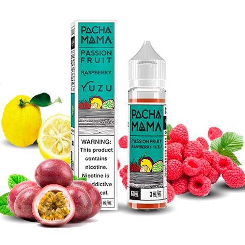 Pacha Mama Passion fruit Raspberry Yuzu (Booster)
