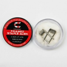 Coilology Handcrafted Framed Staple Alien 26