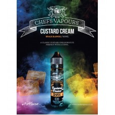 Chefs Flavours Custard Cream 50ml (Booster)