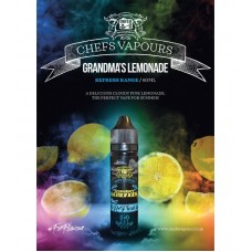 Chefs Flavours Grandmas Lemonade 50ml (Booster)