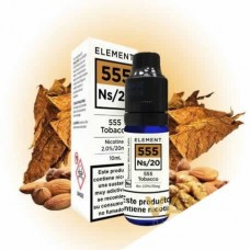 Element 555 Tobacco Salt 10ml 20mg