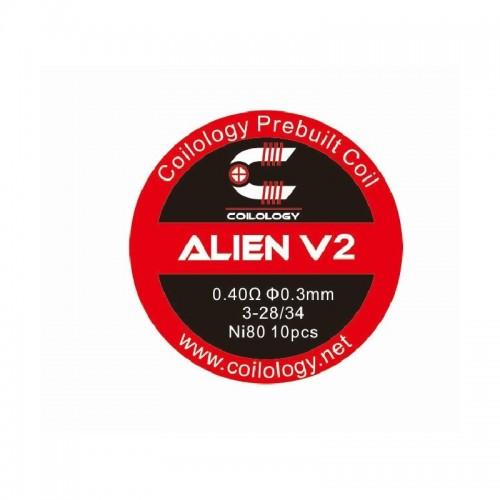Coilology Alien V2 0.40ohm x 10