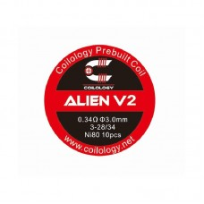 Coilology Alien V2 0.34ohm x 10