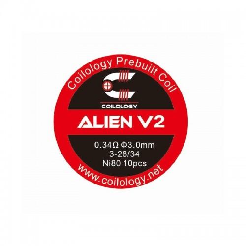 Coilology Alien V2 0.34ohm x 10