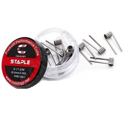 Coilology Staple 0.34ohm x 10