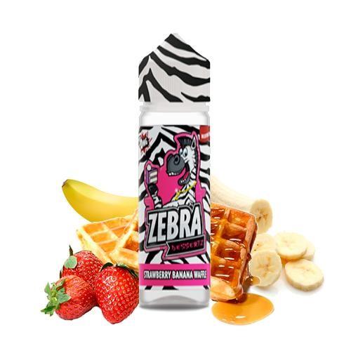 Zebra Juice Dessertz Strawberry Banana Waffle 50ml (Booster)