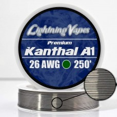 Lightning Vapes Bobina Kanthal A1 26ga 250ft