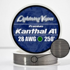 Lightning Vapes Bobina Kanthal A1 28ga 250ft