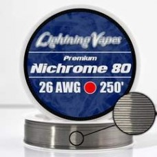 Lightning Vapes Bobina Ni80 26ga 250ft