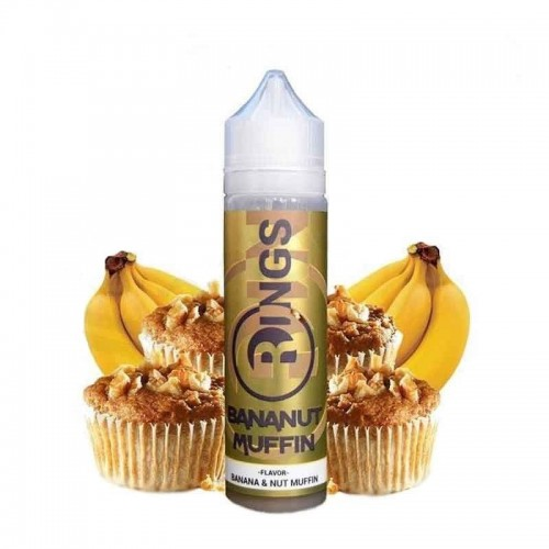 Rings Bananut Muffin 50ml (Booster)