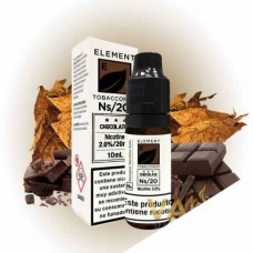 Element Chocolate Tobacco Salt 10ml 10mg