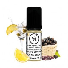 Nicotine Plus Halcyon Haze Gins Addiction 10ml 20mg