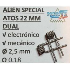 MonteCoils Alien Special Atos 22mm DUAL