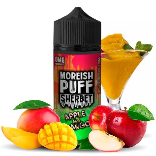 Moreish Puff Sherbet Apple and Mango 100ml (Booster)