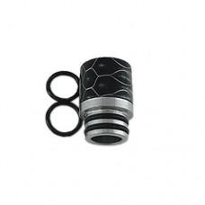Kamry Drip Tip 510 Resina Negro