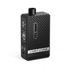 Lost Vape Gemini Hybrid Kit Black Carbon Fiber