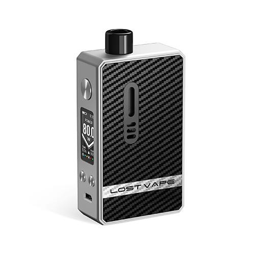 Lost Vape Gemini Hybrid Kit SS Carbon Fiber