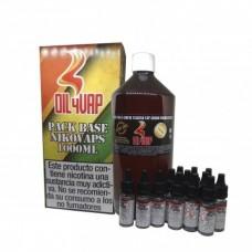 Pack Base y Nicokit Oil4Vap 80vg/20pg 1 Litro 1.5mg