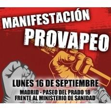 Manifestación Pro-Vapeo